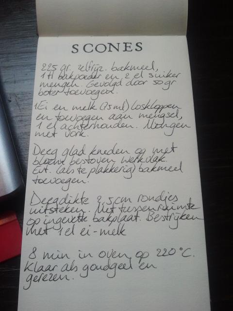 Scones recept   door HvanHeleen