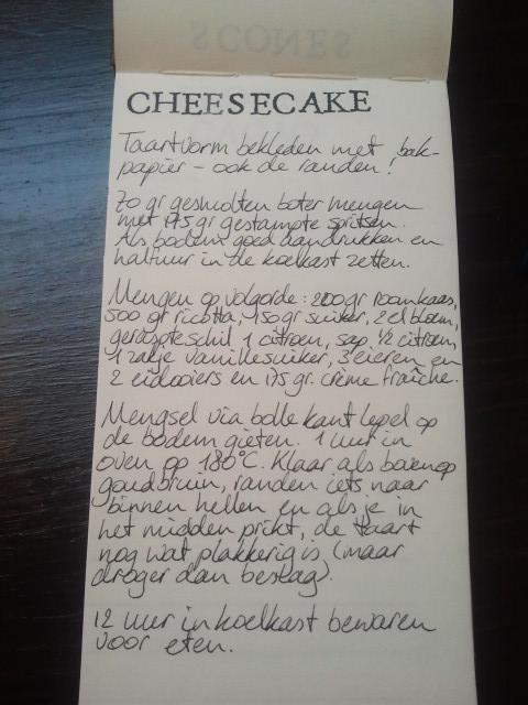 Cheesecake recept | door HvanHeleen