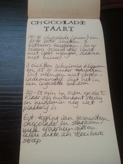 Chocoladetaart recept | door HvanHeleen