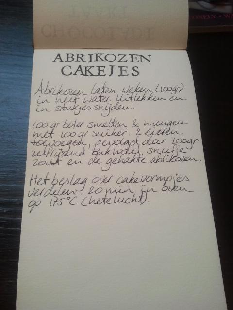 Abrikozen cakejes recept | door HvanHeleen