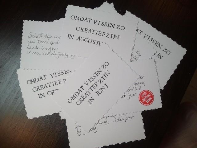 creatief origineel cadeau verjaardag | door HvanHeleen