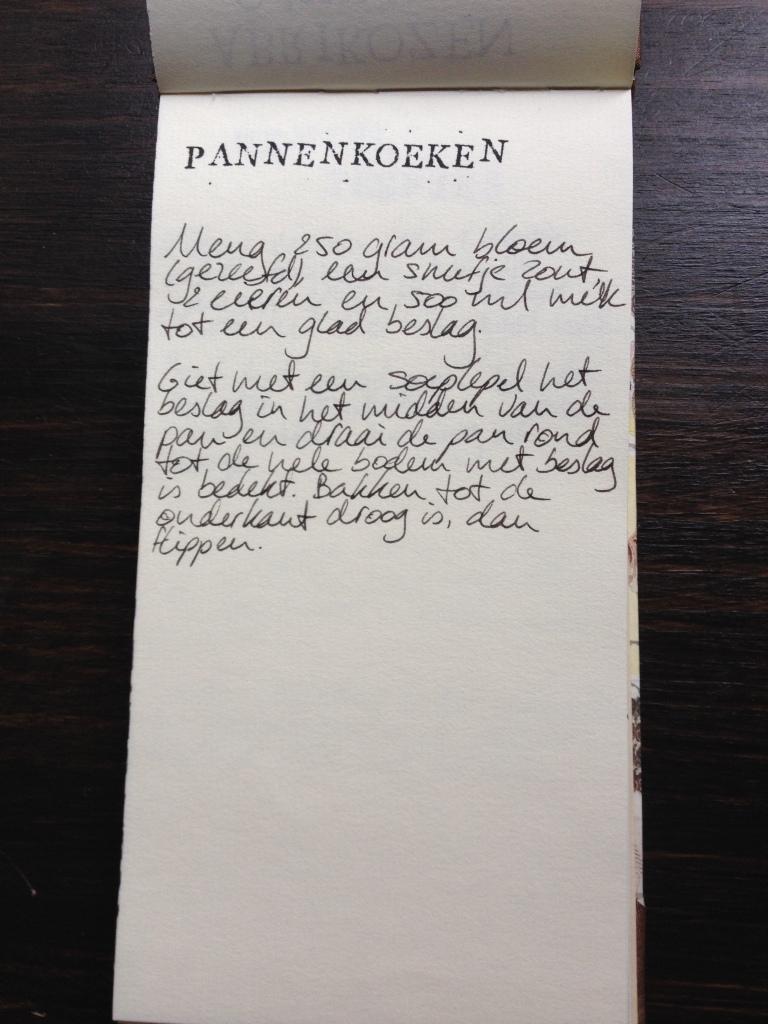 Pannenkoeken recept | door HvanHeleen